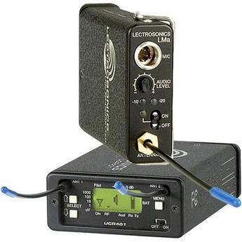 Lectrosonics 400 Series - Wireless UHF Lavalier System (No Mic) (Frequency Block 22)