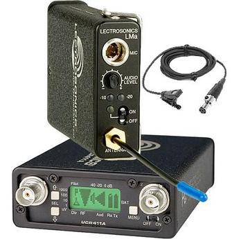 Lectrosonics 400 Series - Wireless Lavalier Microphone System (Frequency Block 26)