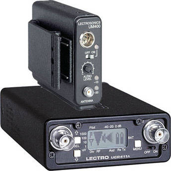 Lectrosonics 400 Series - Wireless Lavalier Microphone System (No Mic, Frequency Block 24)