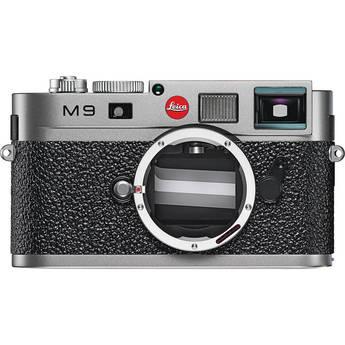 Leica M9 Rangefinder Digital Camera Body (Steel Grey)