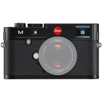 Leica M Digital Rangefinder Camera (Body Only, Black)