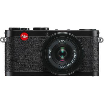 Leica X1 Digital Compact Camera With Elmarit 24mm f/2.8 ASPH. Lens (Black)
