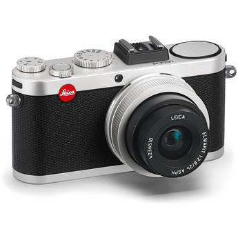 Leica X2 Digital Compact Camera With Elmarit 24mm f/2.8 ASPH Lens (Silver)