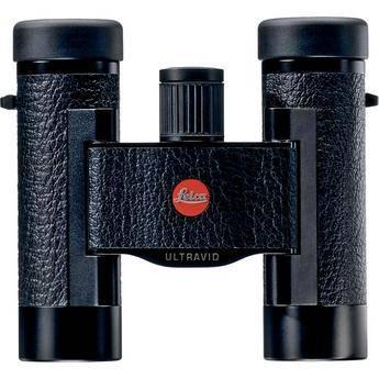 Leica Ultravid 8x20 BCL Compact Binocular (Black Leather)