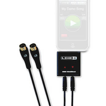 Line 6 MIDI Mobilizer - MIDI Interface for iPhone and iPod Touch