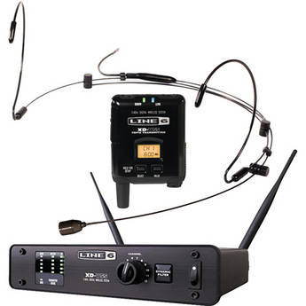 Line 6 XD-V55HS Digital Headset Wireless Microphone System
