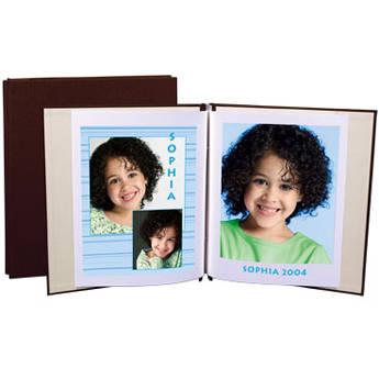 "Lineco Digital Postbound Album - 9.5 x 11"" - European Bookcloth - Chocolate"
