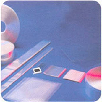"""Lineco Polyguard Mounted Slide Sleeve - 2 x 2"""" - Clear/Sealed - 2500 Pack"""