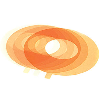Litepanels Ringlite Mini Single Gel (1/8 Color Temperature Orange)