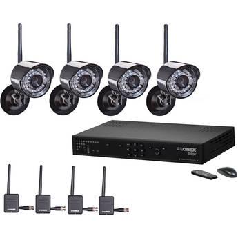 Lorex 4 Channel Edge + Wireless Security Camera System