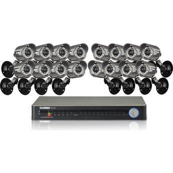 Lorex 16-Channel / 16-Camera Security System
