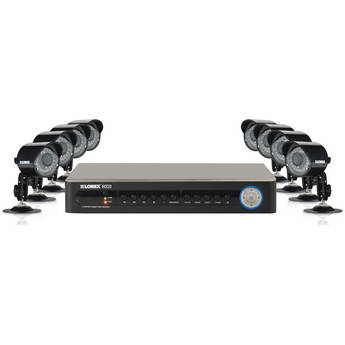 Lorex LH138501C8B 8 Channel 8 Camera Security System