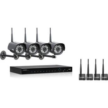 Lorex LH3381001C4WB Vantage Edge2 Security Camera System