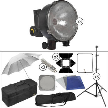 Lowel DP 3 Three-Light Kit