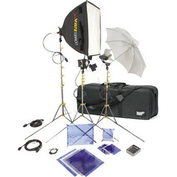 Lowel DV Core 500 Kit, LB35R Case