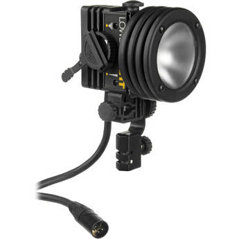 Lowel I-light 100 Watt Focusing Flood Light, 4-Pin XLR Connector (12-30VDC)