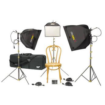 Lowel Rifa eX Small Triple Soft Kit, LB-35 Soft Case