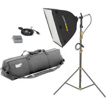 Lowel Rifa-Lite EX55 Softbox Light Kit, LB40 Soft Case (120-240VAC)