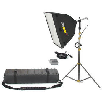 Lowel Rifa-Lite EX55 Softbox Light Kit, Hard Case (120-240VAC)