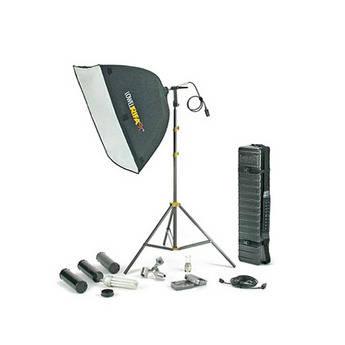 Lowel Rifa 88 eXtra/Flo 80 Kit W/Tube Case (120VAC)