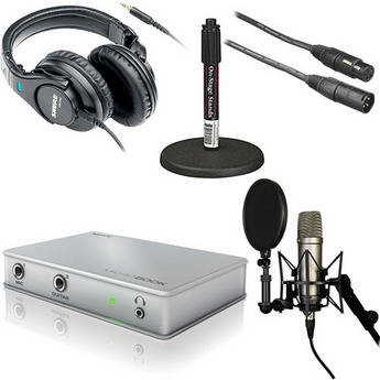 MOTU MicroBook Value Bundle - Desktop Recording Bundle