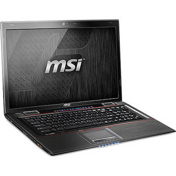"MSI GE70 0ND-033US 17.3"" Notebook Computer (Black/Red)"