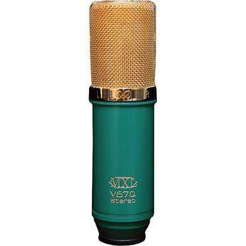 MXL V67Q Stereo Condenser Studio Microphone with X/Y Capsules