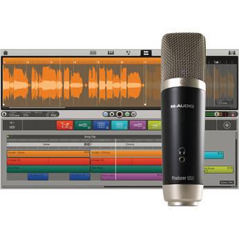 M-Audio Vocal Studio - USB Microphone Personal Recording Studio