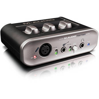 M-Audio Fast Track - USB Audio Recording Interface