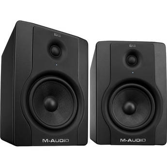 """M-Audio BX8 D2 130W 8"""" Two-Way Active Studio Monitor (Pair)"""