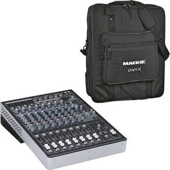 Mackie Onyx 1220i 12-Channel FireWire Recording Mixer Kit
