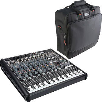Mackie ProFX 12 12-Channel USB Sound Reinforcement Mixer with Bag Kit