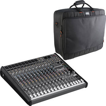Mackie ProFX 16 16-Channel USB Sound Reinforcement Mixer with Bag Kit