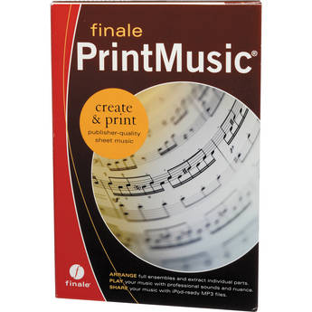 MakeMusic Finale PrintMusic 2011 - Music Notation and Composition Software