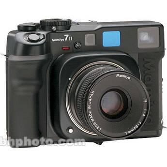 Mamiya 7 II Pro Value Pack Medium Format Rangefinder MF Camera Body (Black)