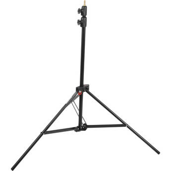 Manfrotto Alu Air-Cushioned Compact Stand Quick Stack 3-Pack (Black, 7.7')