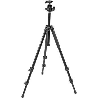 Manfrotto 294 Aluminum Tripod with 496RC2 QR Ball Head