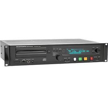 Marantz CDR633 Rackmount Slot-Loading CD Player/Recorder
