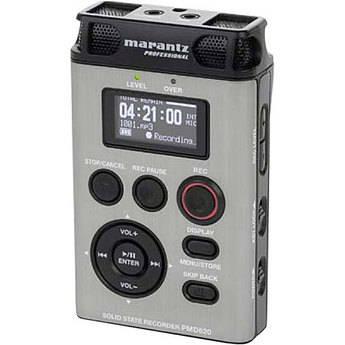 Marantz PMD620 Professional Handheld Digital Audio Recorder