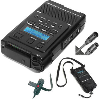 Marantz PMD-660K - Portable Compact Flash Recorder Kit