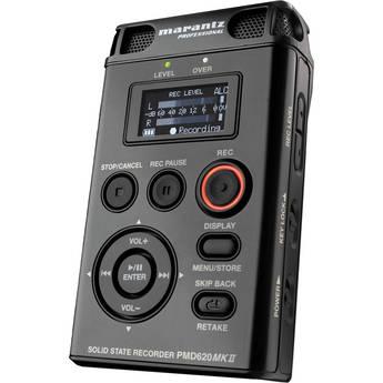 Marantz PMD620 MKII Portable Stereo Flash Recorder