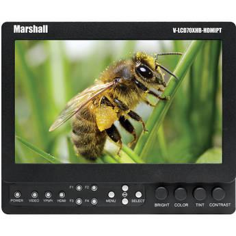 "Marshall Electronics 7"" Field / Camera-Top LCD Monitor (Anton/Bauer)"