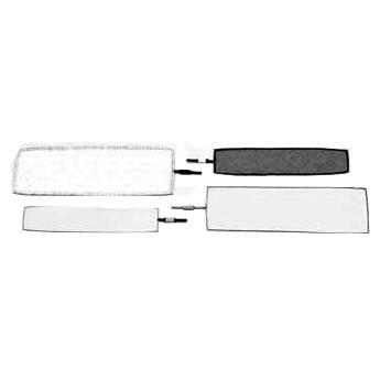 """Matthews Finger - 4x14"""" - White Artificial Silk"""