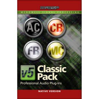 McDSP Classic Pack v5 - Vintage Processor Emulation Plug-In Bundle (Native)