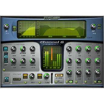 McDSP Channel G HD Compact v5 - Console Style Dynamics and EQ Plug-In (TDM/RTAS/AU)