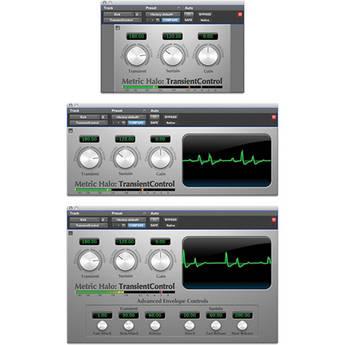 Metric Halo TransientControl - Dynamics Processing Plug-In