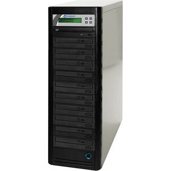 Microboards 10-Drive Daisy-Chainable LightScribe DVD Tower