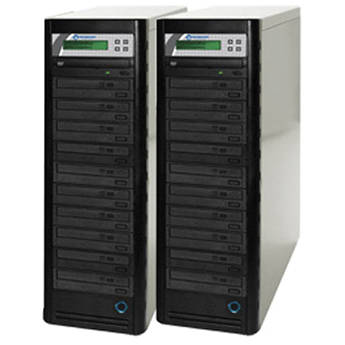 Microboards 20-Drive Daisy-Chainable LightScribe DVD Tower