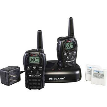 Midland LXT500VP3 22-Channel 2-Way Radios (Pair)