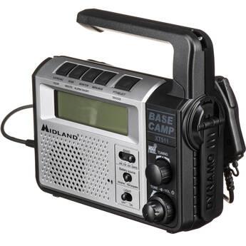 Midland XT511 Base Camp 2-Way Communication Radio with Crank